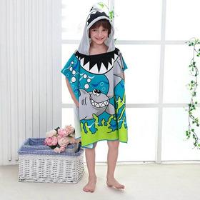 Poncho De Toalla Infantil Varios Modelos - Kidz Juguetes