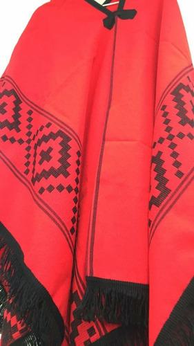 poncho gaucho folklore 2mt regional oferta