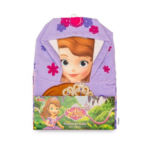 poncho infantil con capucha de toalla piñata (secado rápido)