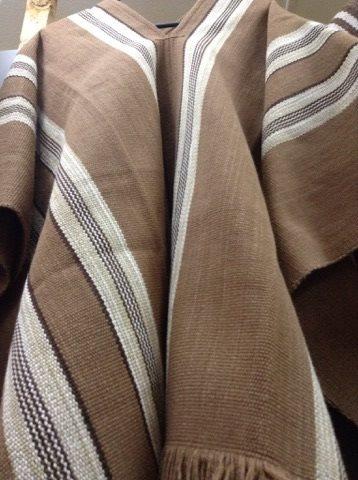 poncho lana  con alpaca / tienda bauldeaperos