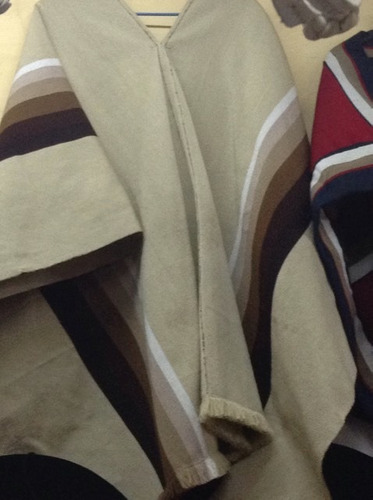 poncho  lana unisex / tienda bauldeaperos
