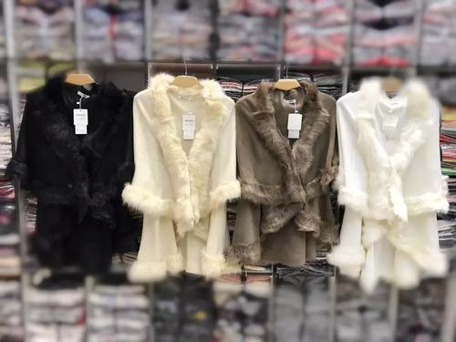poncho pelerine de lã c pelos sintetico roupas atacad