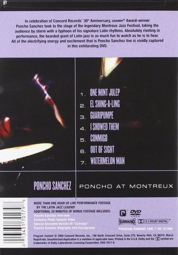 poncho sanchez poncho at montreaux dvd