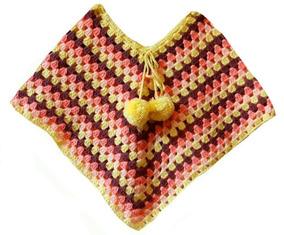 5ba7e078b Capas Tejidas A L Crochet - Saquitos, Sweaters y Chalecos en Mercado ...