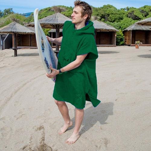 poncho toalla cambiador surf salida de baño bata vs. colores