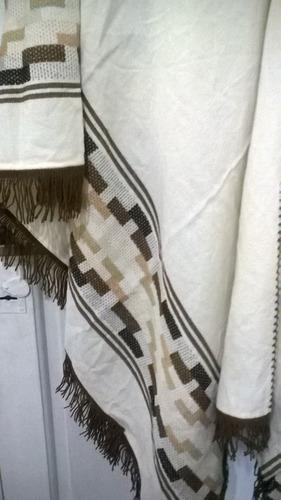 ponchos artesanales