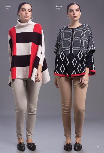 ponchos lady tawil importados. varios modelos/colores.