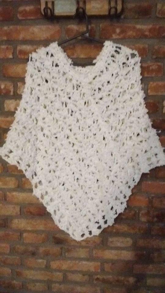 Ponchos Tejidos Al Crochet 80000 En Mercado Libre