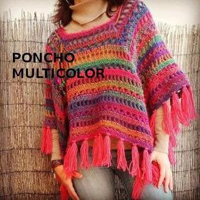 b85def7dd Capa Tejida Crochet - Saquitos, Sweaters y Chalecos en Mercado Libre ...