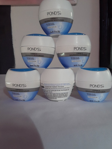 ponds crema humectante  nutritiva s  50g original