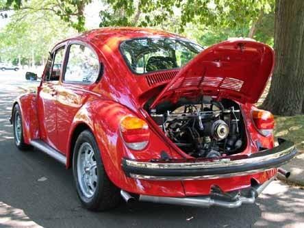 pongale filtro de aceite al vw escarabajo