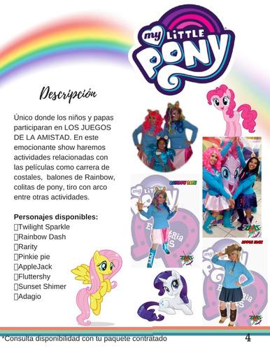 ponnys show infantil.