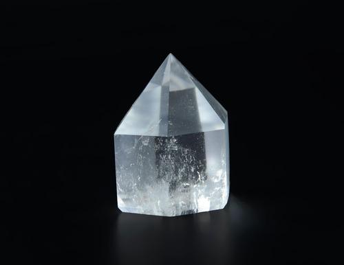 ponta de cristal cortada e polida- po60