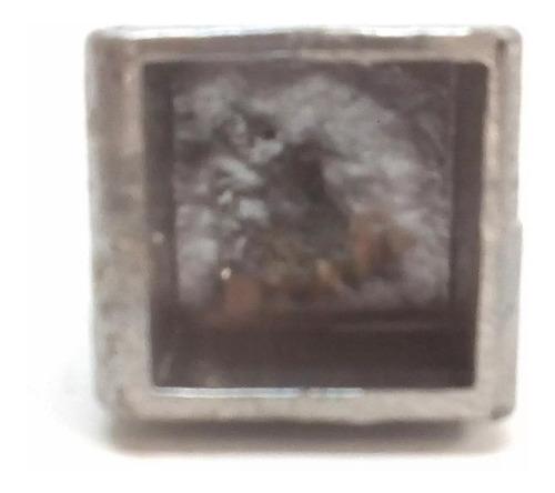 ponta de lança para metalon 20x20mm - 10 un