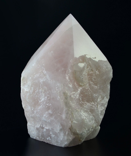 ponta de quartzo rosa- po26