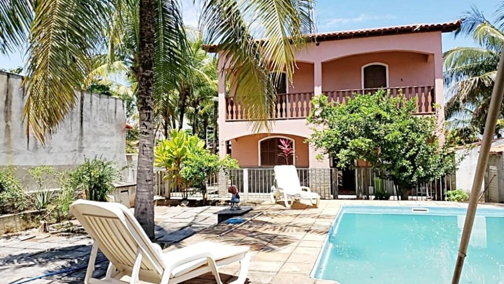 ponta negra-maricá, duplex c/piscina e casa de caseiro.