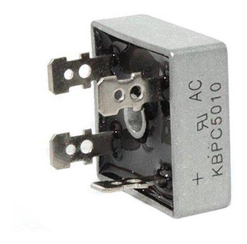 ponte retificadora monofásica kbpc 35/10 35a 1000v arsolcomp