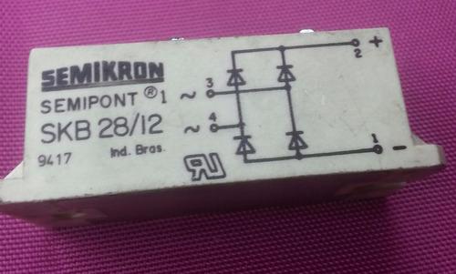 ponte retificadora skb28/12 semikron