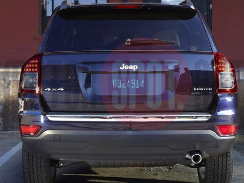 ponteira aluminio jeep compass
