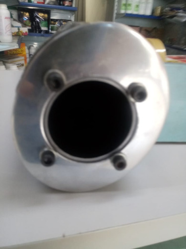 ponteira comet 250 cc 4 1/2 oval em 8 f , carbono - torbal