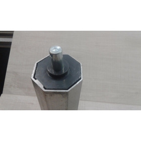 Ponteira De Eixo De Persiana De Alumínio De 35 Milímetros