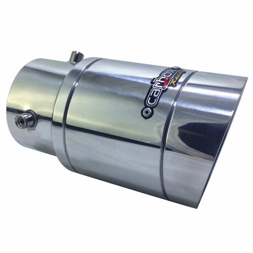 ponteira extreme turbo alumínio gol g5 g6 g7 carbox racing