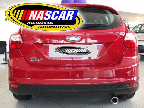 ponteira ford focus hatch 2015/16/17/18 em aço inox 304