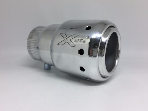 ponteira mwsa escape cromo crv cr-v 96/09 alumínio turbo