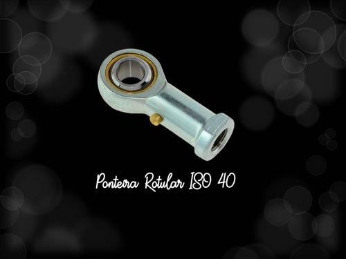 ponteira rotular p/ cilindro iso 40 - romak