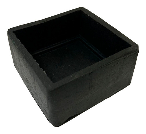 ponteira sapata borracha externa quadrada 50x50 - c/4pçs