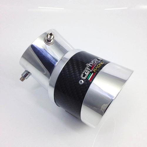 ponteira turbo extreme angular fibra de carbono fiat argo