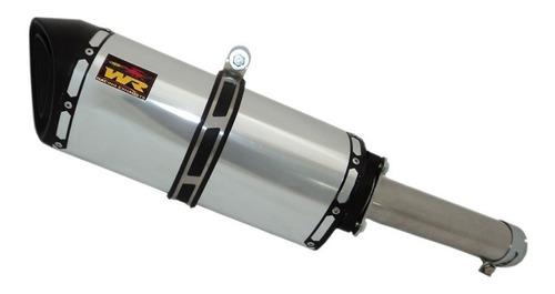 ponteira wr extreme 30cm aluminio polido honda cb 1300f