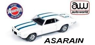 pontiac firebird 1969 trans am aw auto world - 1/64
