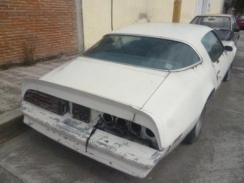 pontiac firebird esprit 1973 proyecto de restauraciòn