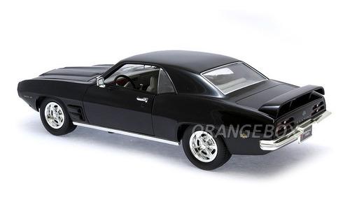 pontiac firebird trans am 1969 1:18 yat ming 92368-preto