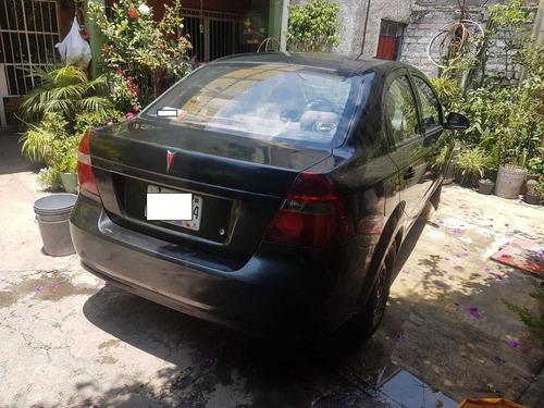 pontiac g3, 2007, negro, 5 puertas