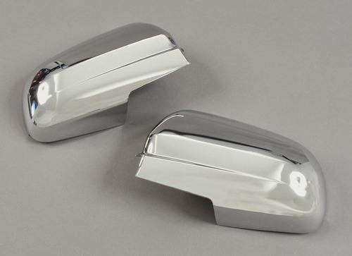 pontiac g3 sedan 2007 - 2009 cubre espejos cromados