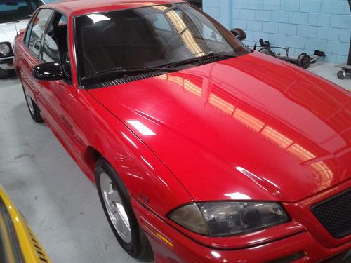 pontiac - grand am - 1995 - vermelho - completo