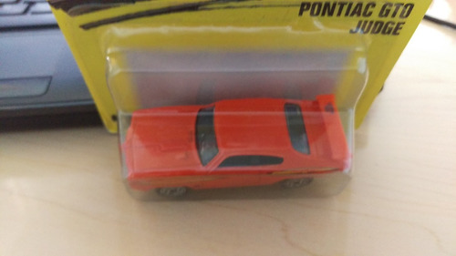 pontiac gto judge matchbox superfast 70