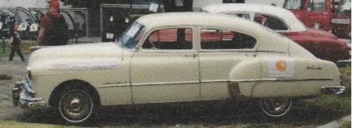 pontiac silver streak 1949, 4 puertas, motor 6 cilindros