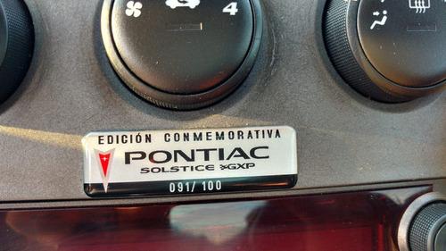 pontiac solstice gxp edición especial 91/100 (acepto cambio)