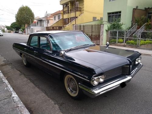 pontiac star chief 1962 placa preta impecável estado de zero
