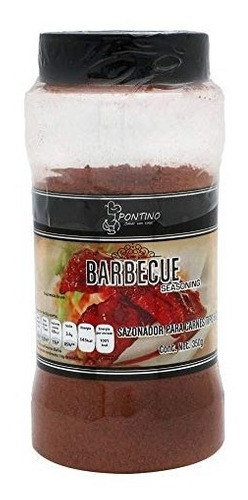 pontino barbeque seasoning, 350 g