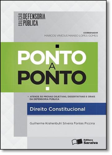 ponto a ponto: direito constitucional - coleção defensoria