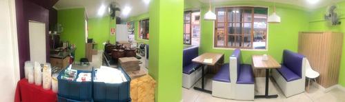 ponto comercial 80 m² em moema açaí, crepe, tapioca