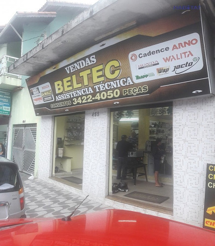 ponto comercial a venda no bairro belas artes em itanhaém - - 1518-1
