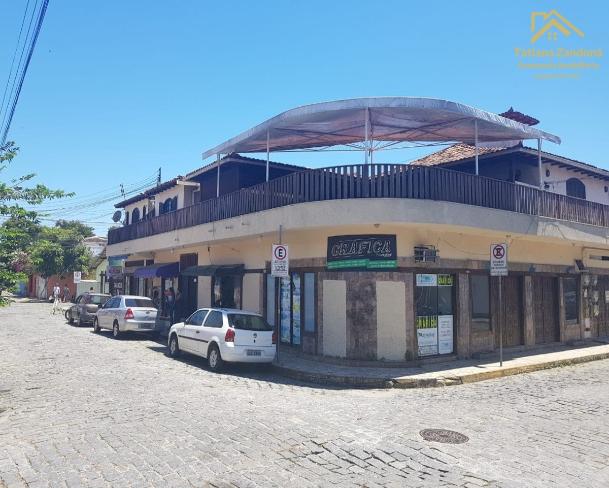 ponto comercial e casa no centro de búzios - pt004g