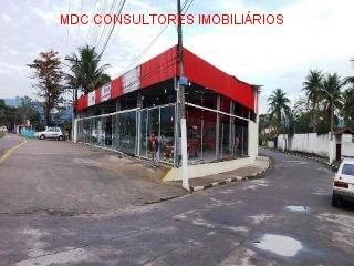 ponto comercial em caraguatatuba ; frente para rodovia caraguatatuba - mdc 1361 - 33728537
