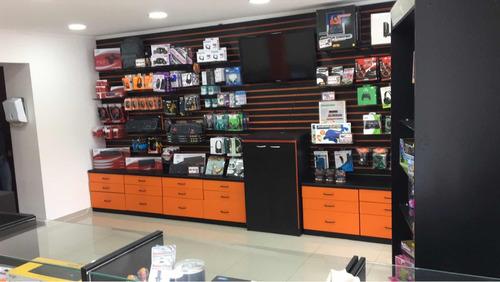 ponto comercial em mongaguá loja montada