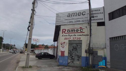 ponto comercial na ce-040 entre o shopping e farmácias - codigo: pt0141 - pt0141